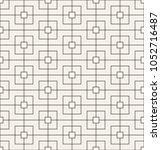 vector seamless pattern. modern ... | Shutterstock .eps vector #1052716487