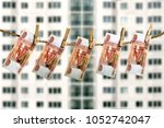 construction investment concept.... | Shutterstock . vector #1052742047
