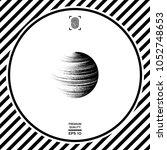 earth symbol logo | Shutterstock .eps vector #1052748653