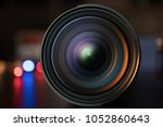 the photo or videocamera lens...   Shutterstock . vector #1052860643