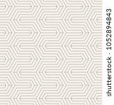 vector seamless pattern. modern ... | Shutterstock .eps vector #1052894843