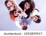 image of businesspeople...   Shutterstock . vector #1052895917