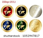 6 in 1 set of zilliqa  zil  ...