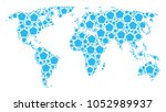 global geography map pattern...   Shutterstock .eps vector #1052989937