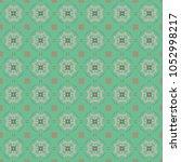 vector seamless geometric... | Shutterstock .eps vector #1052998217