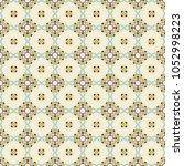 vector seamless geometric... | Shutterstock .eps vector #1052998223