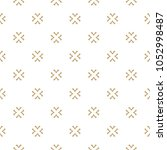 vector gold and white texture.... | Shutterstock .eps vector #1052998487