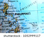 philippines isolated focus... | Shutterstock . vector #1052999117