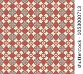 vector seamless geometric... | Shutterstock .eps vector #1053000713