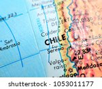 chile south america isolated... | Shutterstock . vector #1053011177
