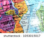 mozambique africa isolated... | Shutterstock . vector #1053015017
