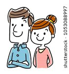 couple  old age  future  future | Shutterstock .eps vector #1053088997