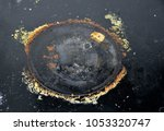 close up of very dirty ceramic...   Shutterstock . vector #1053320747