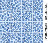 abstract vector seamless... | Shutterstock .eps vector #1053333533