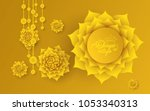 akshaya tritiya celebration... | Shutterstock .eps vector #1053340313