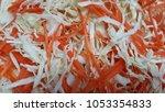 fresh cabbage  | Shutterstock . vector #1053354833