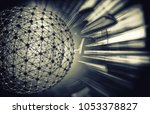 3d rendering of technology... | Shutterstock . vector #1053378827