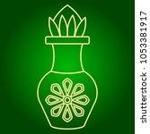 icons of tamarind juice.... | Shutterstock .eps vector #1053381917