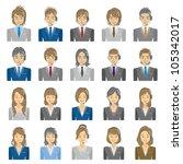 people | Shutterstock .eps vector #105342017