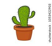 vector illustration of cartoon...   Shutterstock .eps vector #1053422903