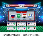badges set of national flag...   Shutterstock .eps vector #1053448283