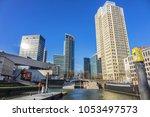 rotterdam  the netherlands  ... | Shutterstock . vector #1053497573