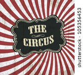 classical circus background ... | Shutterstock .eps vector #105356453