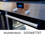 electric oven control panel in...   Shutterstock . vector #1053687707