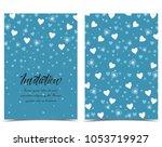 vector illustration decoration... | Shutterstock .eps vector #1053719927