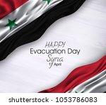 vector illustration of happy... | Shutterstock .eps vector #1053786083