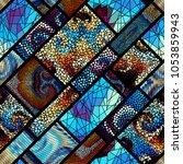 seamless background pattern.... | Shutterstock .eps vector #1053859943