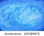 watercolor blue texture... | Shutterstock . vector #105389873