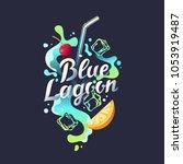 modern hand drawn lettering... | Shutterstock .eps vector #1053919487