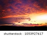 beautiful view of clouds and... | Shutterstock . vector #1053927617