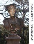 eighteenth century statues in... | Shutterstock . vector #1053959543