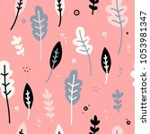 design of a seamless pattern...   Shutterstock .eps vector #1053981347