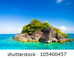 Sea Scene Rock Island