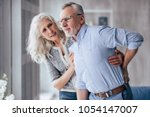 Senior Couple At Home. Handsom...