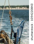 Small photo of Otter trawl door, blue