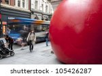 exeter   june 15  passersby and ... | Shutterstock . vector #105426287