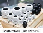 terminal connectors for modern... | Shutterstock . vector #1054294343