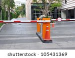 Vehicle Security Barriers - stock photo