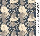 seamless fashion sandy beige ...   Shutterstock .eps vector #1054408883