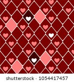 background with diamonds and... | Shutterstock .eps vector #1054417457