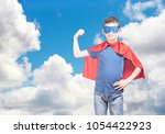 success and confidence concept... | Shutterstock . vector #1054422923