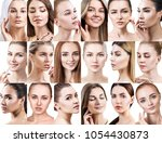 big collage of different... | Shutterstock . vector #1054430873