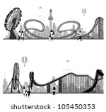 vector illustration.roller... | Shutterstock .eps vector #105450353