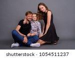studio shot of young russian... | Shutterstock . vector #1054511237