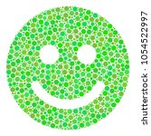 glad smile collage of filled... | Shutterstock .eps vector #1054522997