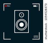 audio speaker icon | Shutterstock .eps vector #1054528373
